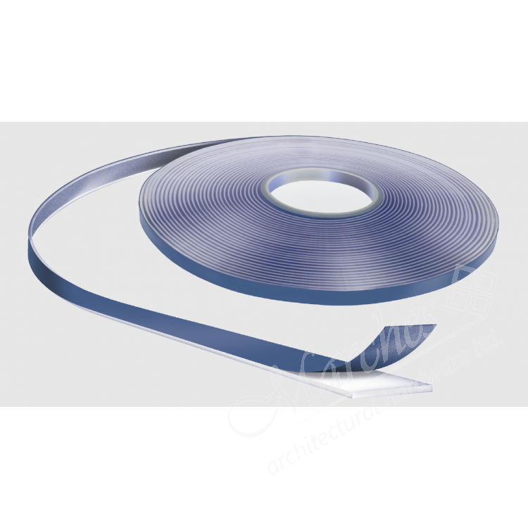 Pure Acrilc Tape 20mm X 1mm X 33m Clear Glazing