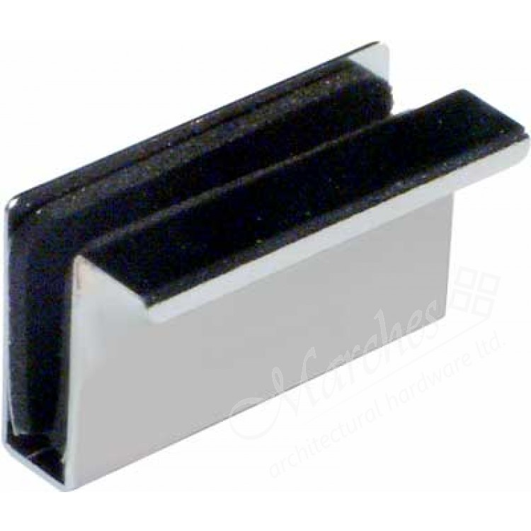 Counterplate With Finger Pull For Glass Doors Magnetic