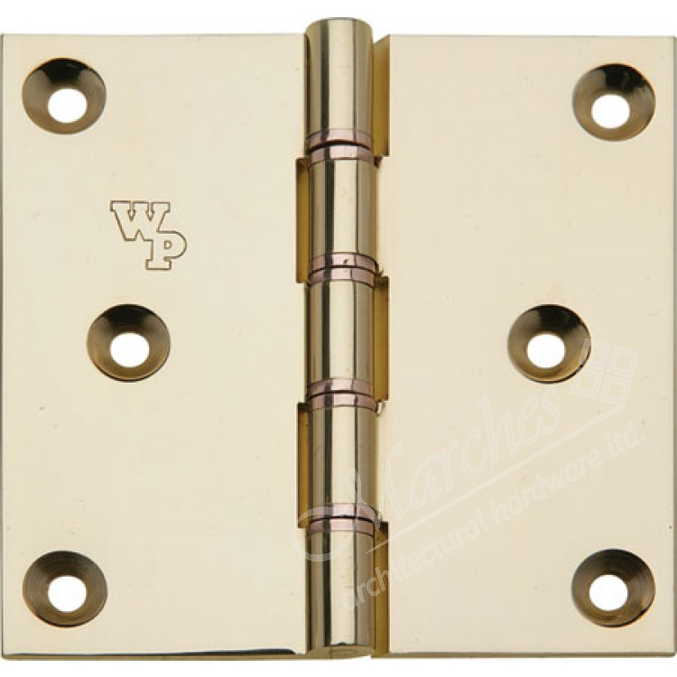 Brass Dpbw Projection Butt Hinge 76 X 76 Mm Washered