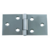Back Flap Steel Hinges (pair) - Zinc