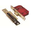 Union 2200S Strongbolt 5L BS Sashlock 68mm - Pol Brass