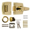 ERA - 40mm Night Latch - Brass Case & Cylinder