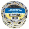 White Double Sided Tape 50mm x 25m