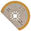 80mm HSS-TiN Segmented Oscillating Blade for Wood, Met & Fibreglass