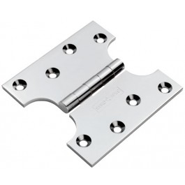 "Eurospec 4""x2""x4"" Parliament Hinges - Polished Chrome (pair)"