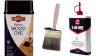 Paints, lacquers and brushes